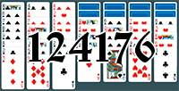 Solitaire №124176