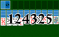 Solitaire №124325