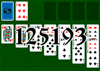 Solitaire №125193