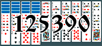 Solitaire №125390
