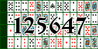 Solitaire №125647