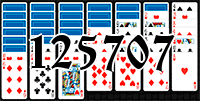 Solitaire №125707