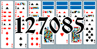 Solitaire №127085