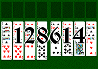 Solitaire №128614