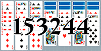 Solitaire №153244