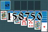 Solitaire №158750