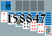 Solitaire №158847