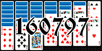 Solitaire №160797