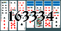 Solitaire №163334