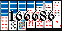 Solitaire №166686