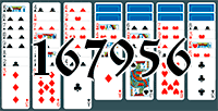 Solitaire №167956