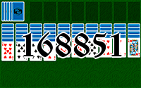 Solitaire №168851