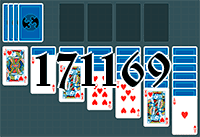 Solitaire №171169