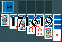 Solitaire №171619