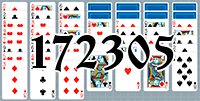 Solitaire №172305