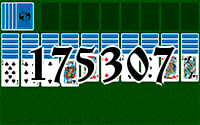 Solitaire №175307