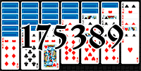 Solitaire №175389