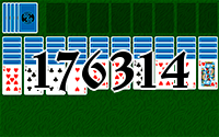 Solitaire №176314
