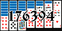 Solitaire №176394