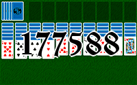 Solitaire №177588