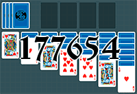 Solitaire №177654