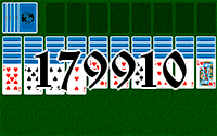 Solitaire №179910