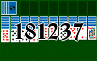 Solitaire №181237
