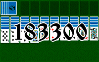 Solitaire №183300