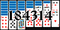 Solitaire №184314