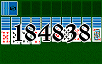 Solitaire №184838