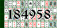 Solitaire №184958