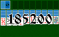 Solitaire №185200