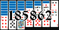 Solitaire №185862