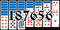 Solitaire №187656