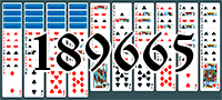 Solitaire №189665