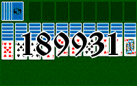 Solitaire №189931