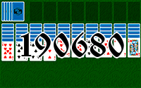 Solitaire №190680