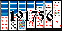 Solitaire №191756