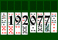 Solitaire №192077