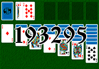 Solitaire №193295