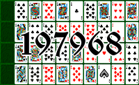 Solitaire №197968
