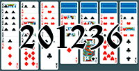Solitaire №201236