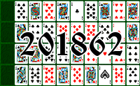 Solitaire №201862
