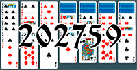 Solitaire №202759