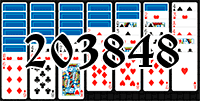 Solitaire №203848