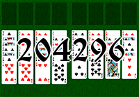 Solitaire №204296