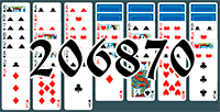 Solitaire №206870