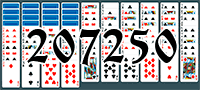 Solitaire №207250