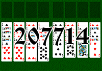 Solitaire №207714