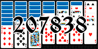 Solitaire №207838